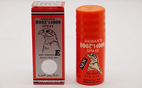 Mission sexual The longest by Reman's Dooz 14000 Delay Spray for Men Last Longer Orgasm For Men Spray Delay Premature Ejaculation Prolong Sex with Vit E 45 ml.