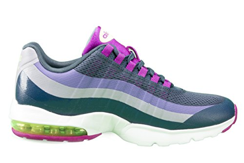 Nike Kvinnor Air Max 95 Ultra Athletic Gymnastiksko Sko-skvadron Blå / Levande Lila