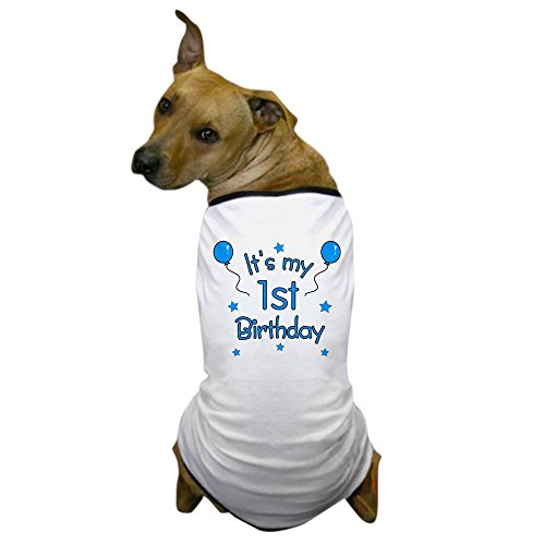 "CafePress – ""It's My 1st Birthday Dog T-Shirt – Dog T-Shirt, Pet Clothing, Funny Dog Costume"