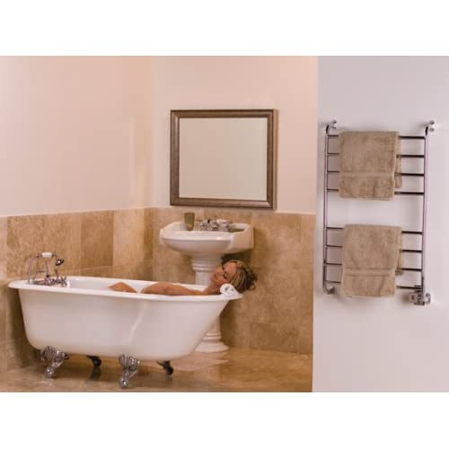 Warmrails HSKC Kensington 39.5-Inch Wall Mounted Towel Warmer, Chrome Finish on sale