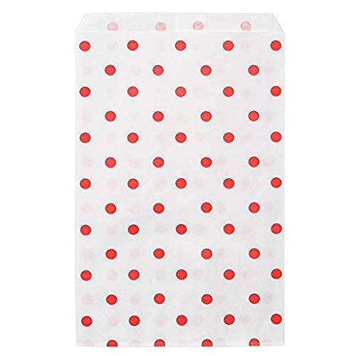 RJ Displays-100 pcs Pack Red Dot Paper Gift