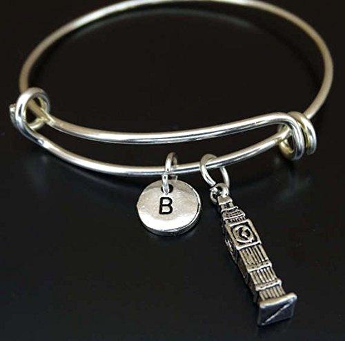 Big Ben Bracelet, Big Ben Charm, Big Ben Pendant, Big Ben Jewelry, London Tower Bracelet, London Tower Charm, Clock Tower Bracelet, London Tower Pendant, London Clocktower Bracelet