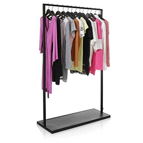 Freestanding Garment Entryway Organizer Clothing