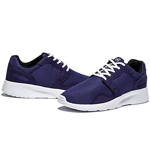 Needbo Hombres Y Mujeres Unisex Runnning Zapatos Ligeras Zapatillas Deportivas Flexibles Sport Trail Shoe Purple
