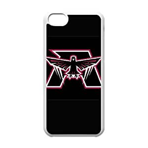 NFL iPhone 5c White Cell Phone Case Atlanta Falcons PNXTWKHD0065 NFL Phone Case Cover 3D Durable