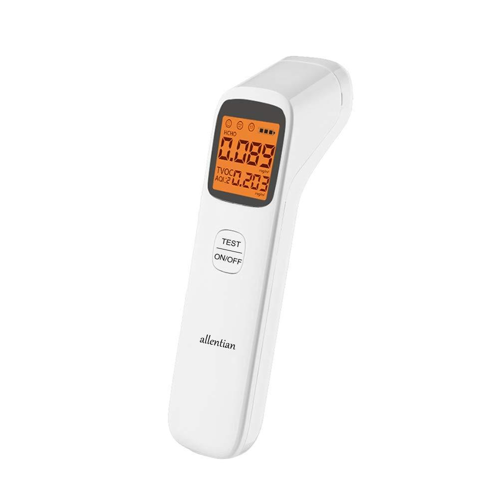 Air Quality Monitor Indoor,(HCHO) Formaldehyde Detector, AQI Monitor, Air Quality Tester, Sensor, Detect & Test Indoor Pollution, TVOC
