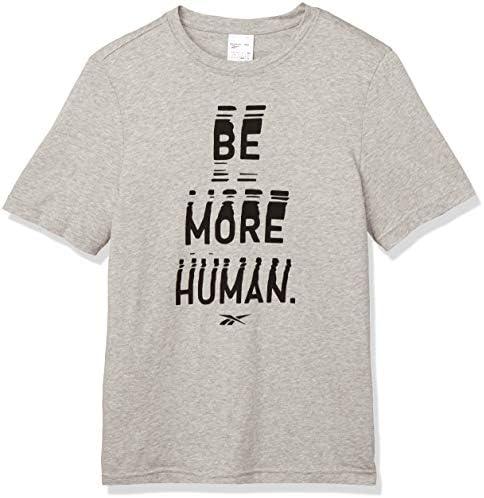 グラフィック シリーズ Be More Human クルー Tシャツ GJC11 メンズ