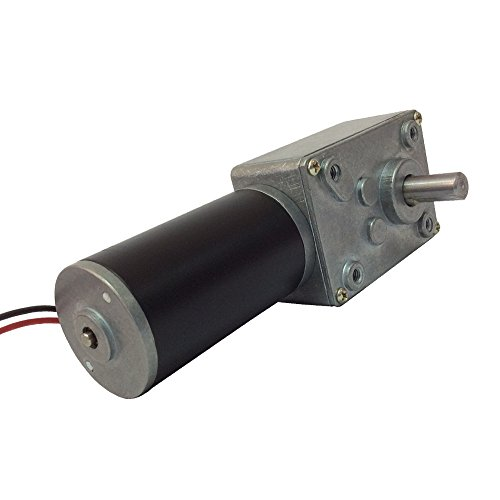 BEMONOC Small DC Motor High Torque 12V 35 RPM Worm Geared Motor for BBQ Drive Replacement