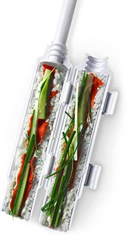 Sushi bazooka by Sushedo. Sushi making kit - Sushi roller maker | Sushi tube machine