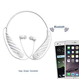 Mimitakara (Active White) FDA Registered Rechargeable Hearing Amplifier, with Bluetooth earphone technology