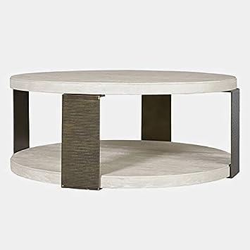 Amazon Com Coffee Table With Wood Top Steel Base Coffee Table