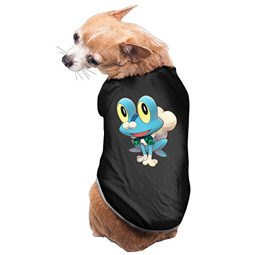 [LFISH3 Froakie Warm Pet Shirt Dog Cat Costume] (Froakie Costume)