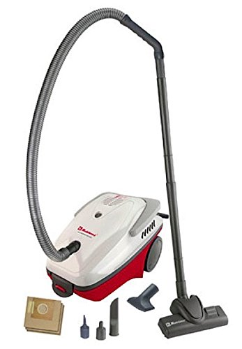 Koblenz DV-110 KG3 All-Purpose Fully Equipped Vacuum Cleaner, Gray/Burgundy - Corded by Koblenz