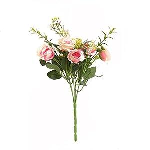 BSGSH Artificial Silk Peony Flowers Bouquet for Home Garden Wedding Party Bridal Decor 84