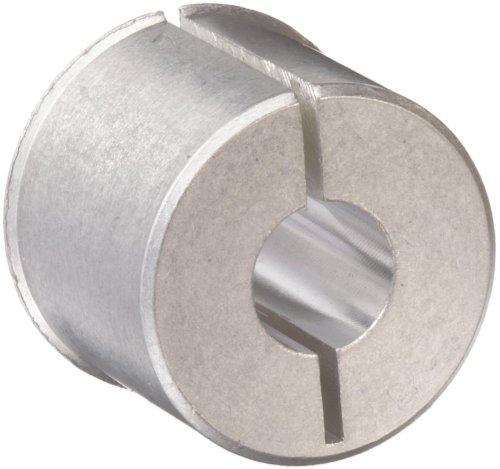 "Huco 257.24.Z Size 24 Huco-Lok Bore Reducer, Aluminum, Inch, 0.25"" Bore A, 0.25"" Bore B, 0.394"" OD, 0.32"" Length"