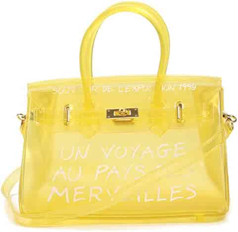 5f05e2103794 Shopping Clear or Yellows - 3 Stars & Up - Handbags & Wallets ...