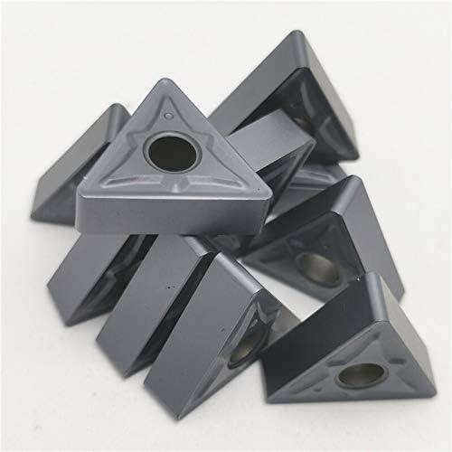 10pcs TNMG160408 / 160404R NN LT10 Externe Drehwerkzeug Hartmetalleinsatz CNC Klinge (Farbe : TNMG160408 NN LT10)