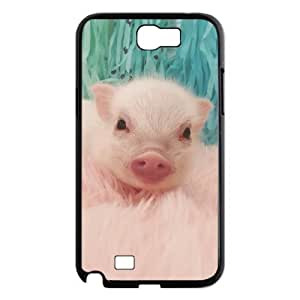 FLYBAI Cute Pig Phone Case For Samsung Galaxy Note 2 N7100 [Pattern-2]