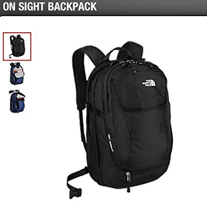c571871fe Amazon.com: North Face On Sight Back Pack (BLACK): Everything Else