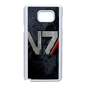 Samsung Galaxy Note 5 Phone Case Mass Effect Case Cover PU7P554833