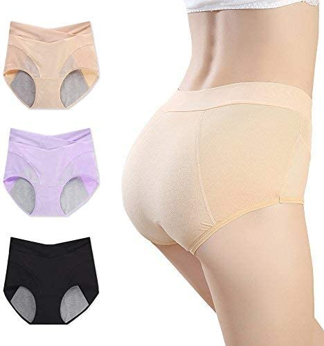 Women Knickers Menstruation Soft Seamless Safety Breathable Elastic Panties
