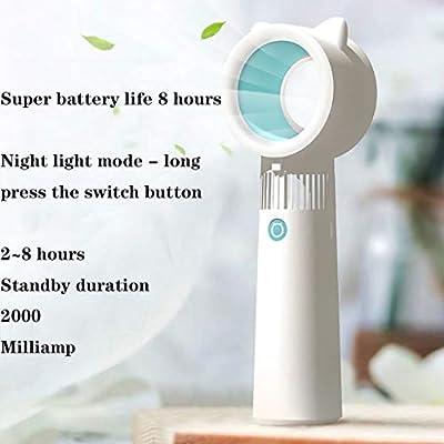 Bestting Mini Ventilador de Mano, USB Ventilador al Aire Libre ...