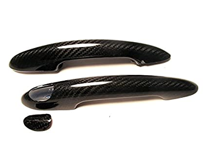 Dry Carbon Fiber Door Handle Cover kit for MINI COOPER F55/F56 LHD
