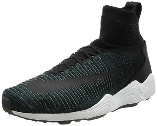 Nike Mens Zoom Mercurial XI FK FC Black/Hasta-Seaweed Fabric Size 10