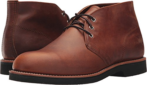 Red Wing Heritage Men's Foreman Chukka Work Boot, Copper Rough & Tough, 7 US/7 D US (Chukka Wing Red)
