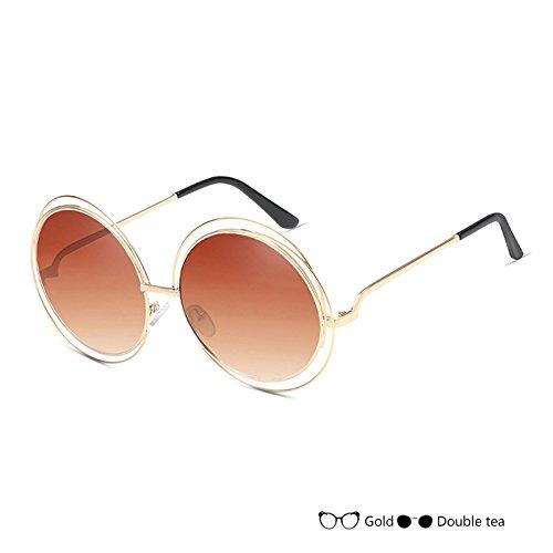 De Vintage De Señor Mujer Del D Sol TIANLIANG04 Oval Negro L De Gafas Gafas Lujo Sol Redondas Gafas 5wfqFFP