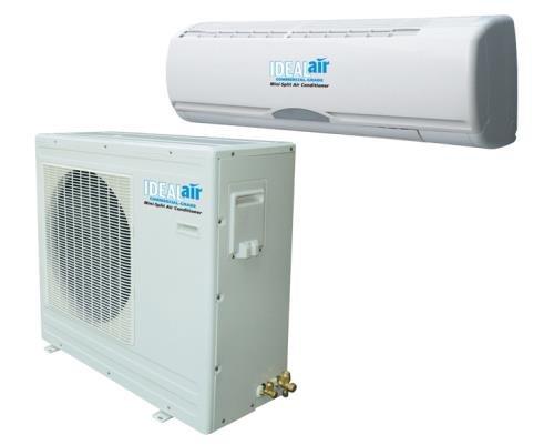 4113Cu4zbeL Ideal-Air 12,000 BTU 15 SEER Mini Split Heat Pump