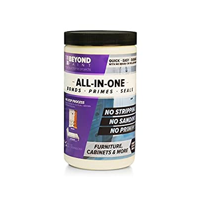 BEYOND PAINT - Furniture, Cabinets and More All-in-One Refinishing Paint Quart- color: Off White