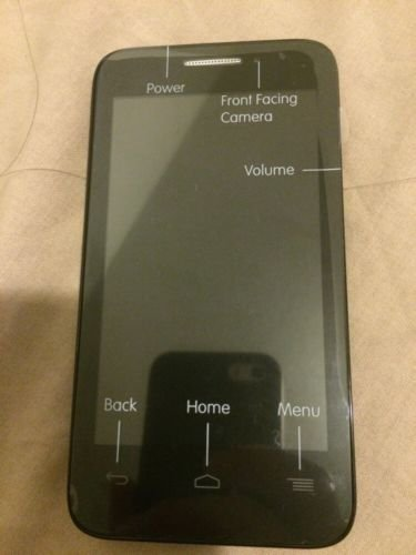 Alcatel One Touch Evolve 2 Black GSM International Unlocked Android Smartphone- No Contract (Unlocked) Any GSM network WORLDWIDE !! by Alcatel One Touch (Image #2)