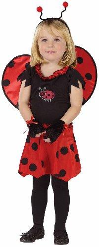 Sweetheart Ladybug Child Costume Size 3T-4T Toddler ()