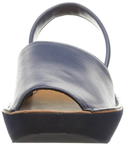 REACTION Cole Sandal Glass Women's Navy Fine Kenneth Wedge T8waOxaF