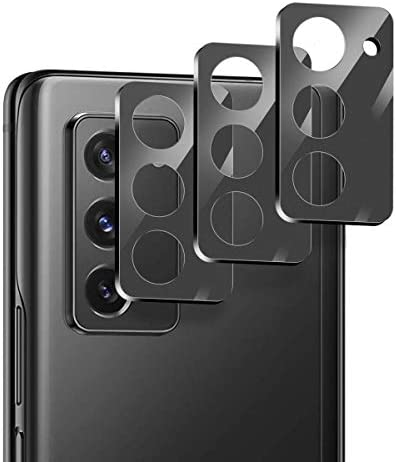 Suoman 3-Pack for Samsung Galaxy Z Fold 2 5G Camera Lens Protector, [Aluminum Alloy] [Not Affect Flash] Camera Lens Protector for Galaxy Z Fold 2 5G – Black