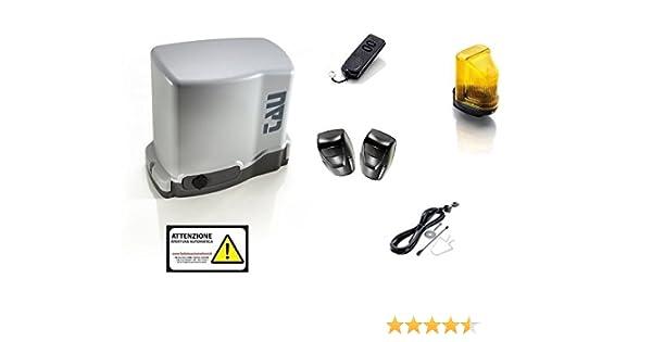 Kit AUTOMAZIONE Puerta Corredera 230 V carga máxima 500 kg, no Came BFT Serai: Amazon.es: Electrónica