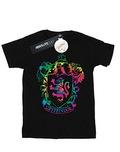 Garçon Gryffindor Harry Dye Potter T Infill Crest shirt Noir Tie SxSEw5Rq