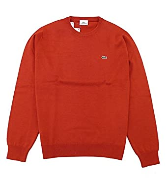 950bc1c7d5a2 Lacoste Herren Pullover Rot rot X-Large  Amazon.de  Bekleidung