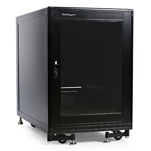 StarTech.com 15U Rack Enclosure Server Cabinet - 27.6 in. Deep - Built-in Fans by StarTech