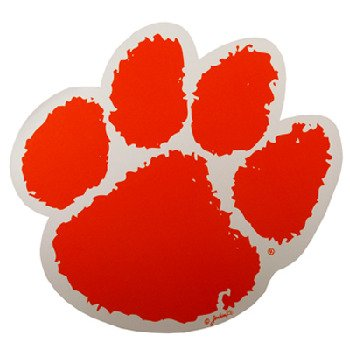 NCAA Clemson Tigers Car Magnet (Large, 2 Pack)