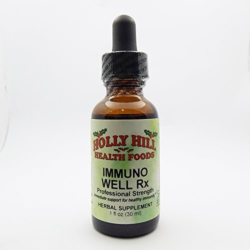 (Holly Hill Health Foods, Immuno Well Rx (Professional Strength), 1 Ounce)