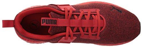 5 Street Sneaker Risk High Nrgy Men's M PUMA US Black Mega Red 11 qwROSHn4x