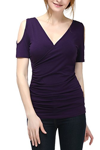phistic Women's Jenny Cold Shoulder Top -