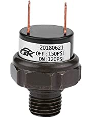 Air Pressure Switch, 12V Universal Car Automatic Air Compressor Pressure Control Switch