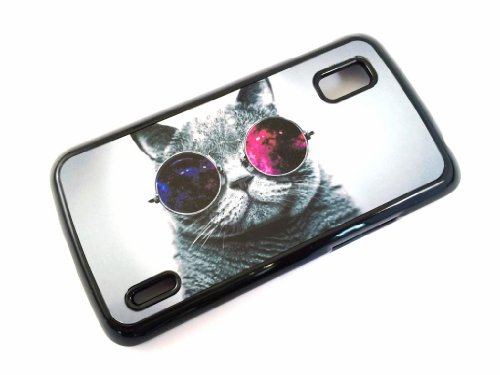 lg-google-nexus-4-cat-sunglasses-fashion-trend-design-case-back-cover-metal-and-hard-plastic-case-bl