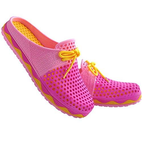 Pantofole Fortuning's Gli Le Per Scavano Uomini Traspirabilità E Fuori Moda Da Scarpe Donne Spiaggia Rosa Estate Jds® wwrqz6A4