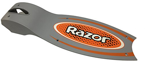 E90 Deck Plate w/ Grip Tape - Orange (Razor Scooter Replacement Grips)