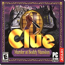 ATARI Clue Murder At Boddy Mansion Modern Design Beautiful Popular High Quality Popular Modern Mansion