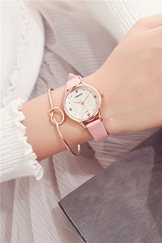 Generic Korean_edition_ watch es girls_sweet_College_of arts,_minimalist_casual_ women _jacket_with_small_beauty_water_drilling_water_resistant